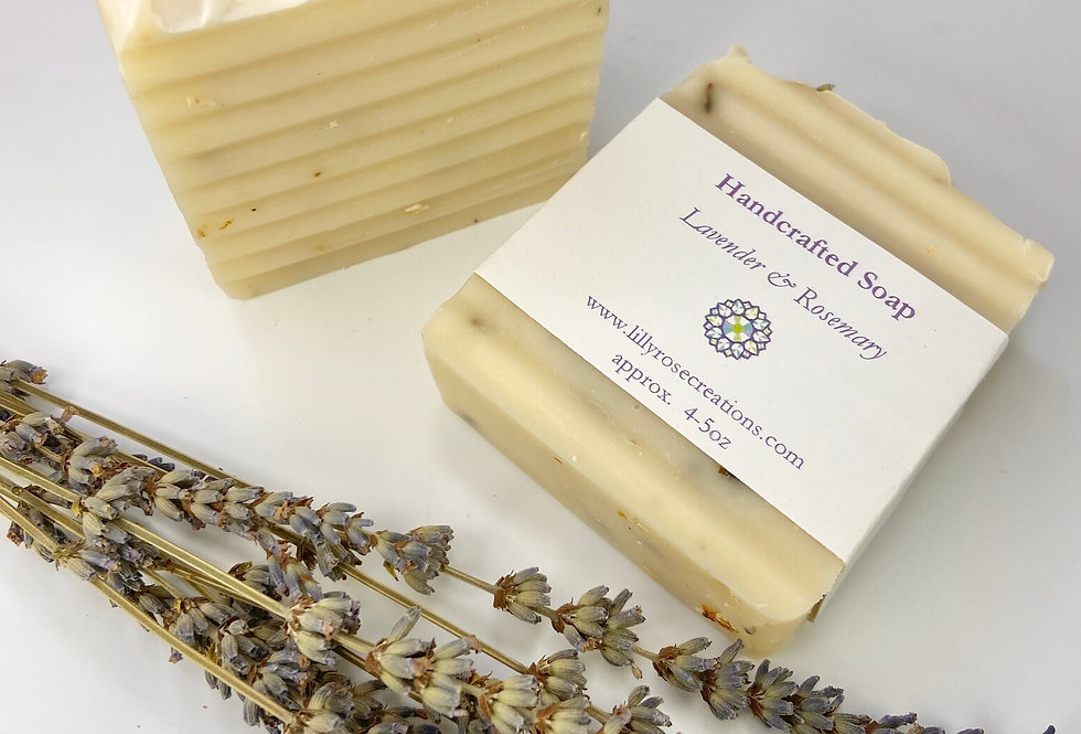 Body Soap ~ Lavender & Rosemary