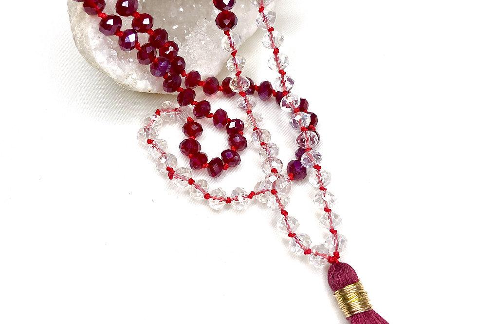 Cranberry Dreams Necklace
