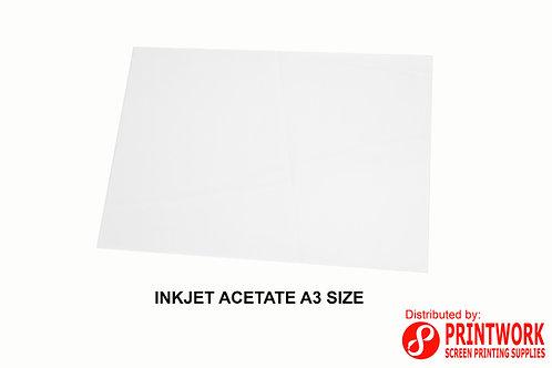 Inkjet Acetate A3 Size