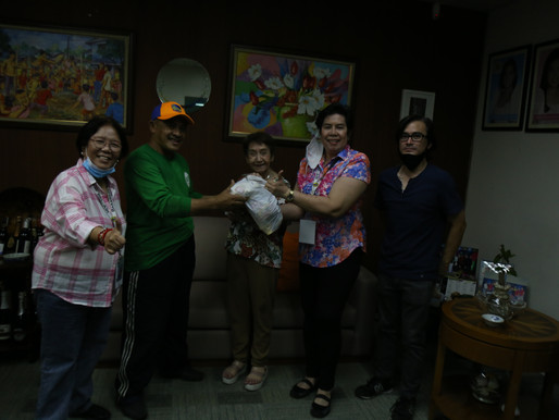 06-25-2020 DONATION OF GOODS TO SALCEDO HOUSEHOLD HELP