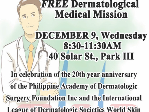 FREE Dermatological Medical Mission