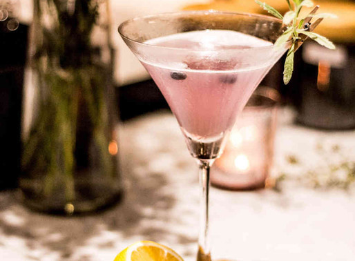 Cocktail: Le Rosemary Fizz