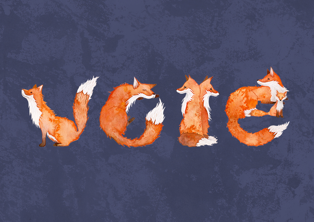 Vote! For Fox Sake!