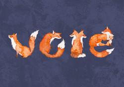 Vote! For Fox Sake!