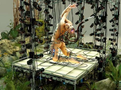 Lady Gaga senza veli e cyberpunk nel nuovo photoshoot di Paper Magazine