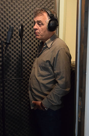 Recording of the voices of Stefan Godin