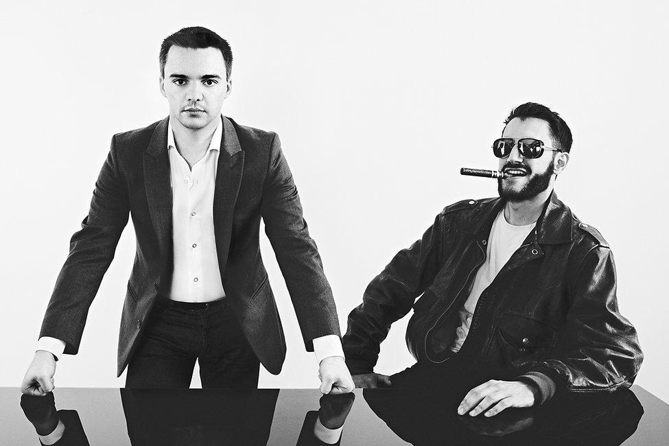 David Gendreau et Alexandre Leraître, réalisateurs du documentaire Guerre fantôme : la vente d'Alstom à General Electric