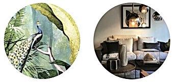 foto behang, kleuradvies, de inrichter, interieurtips emmen, herinrichting emmen