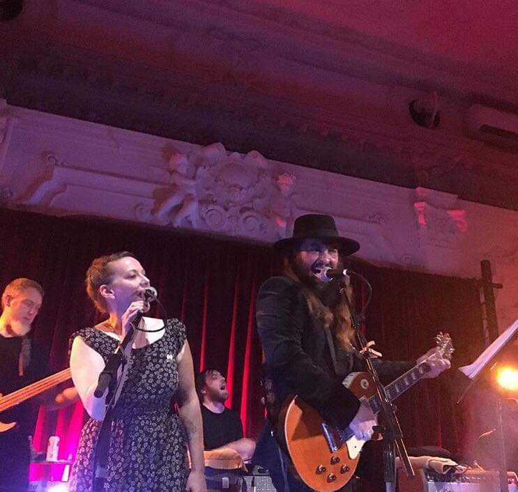 Singing with Magnolia Electric Co. and Strand of Oaks at Songs: Molina benefit @ Bush Hall