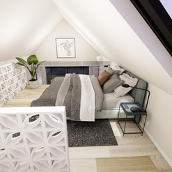 Tiny Home Mezzanine