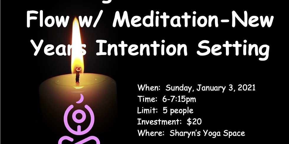 Candlelight Gentle w/ Intention Setting Guided Meditation