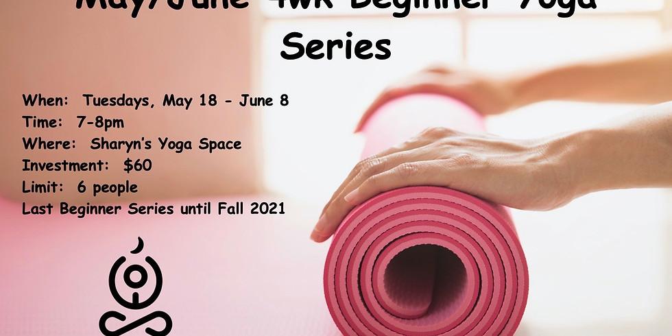 May/June Beginners Series April 4wk