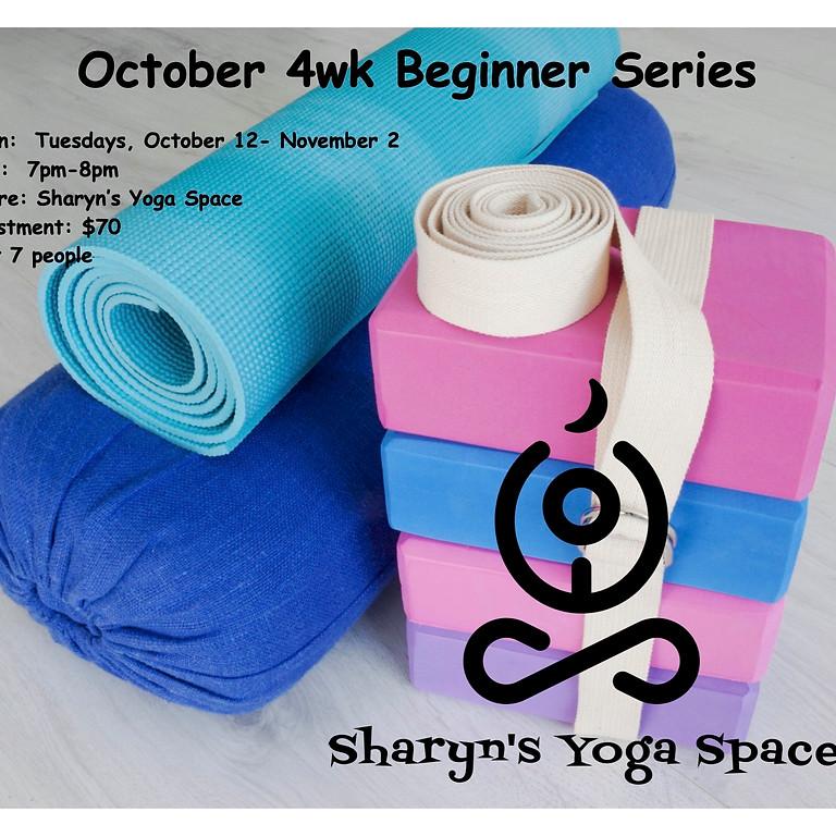October 4wk Beginner Series