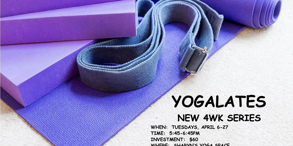 Yogalates- 4wk Series-Tuesdays