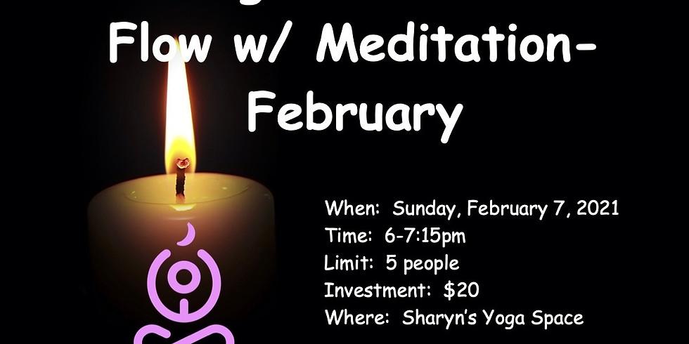 Candlelight Gentle Flow w/ Meditation
