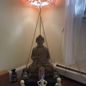 Buddha in studio