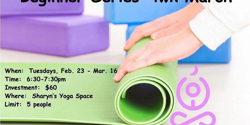 Beginners Series 4wk March
