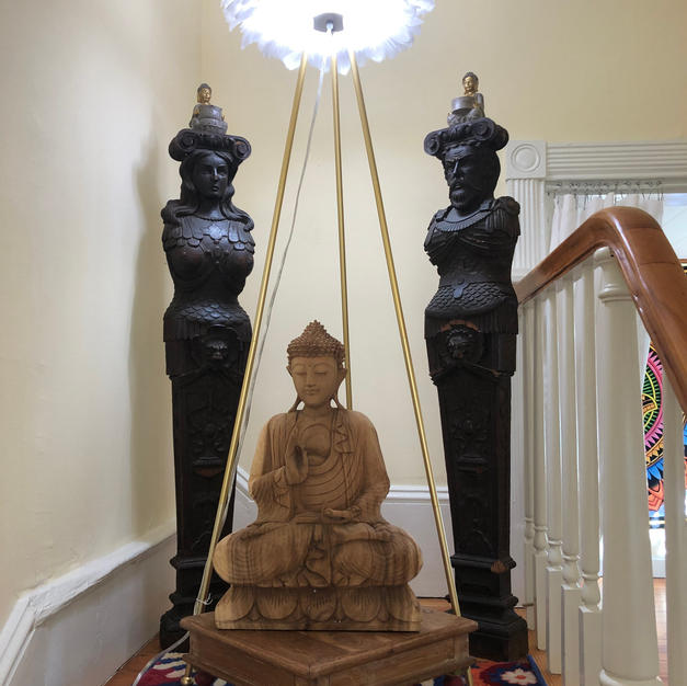Buddha in Foyer