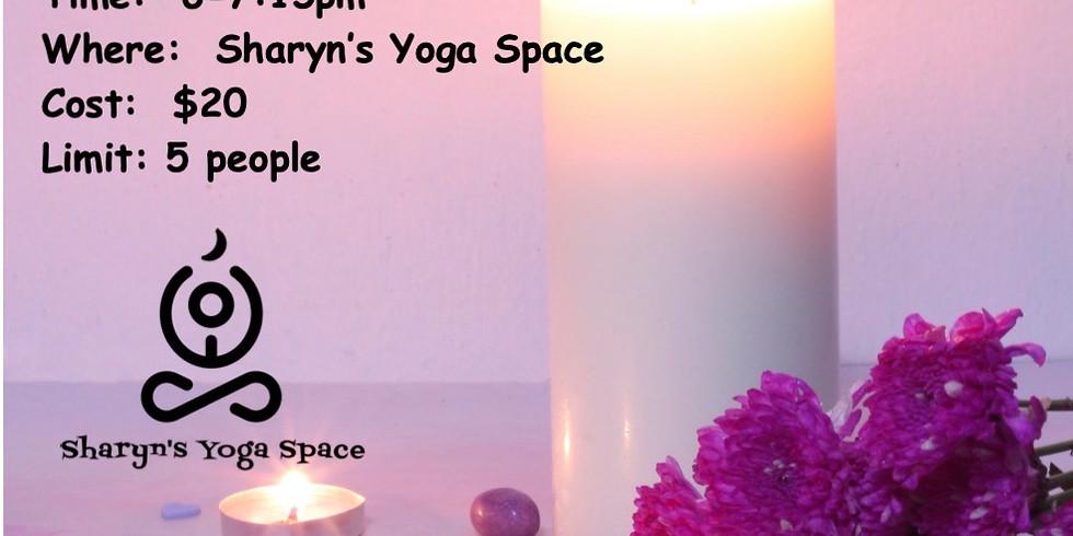 April Candlelight Gentle w/ Meditation