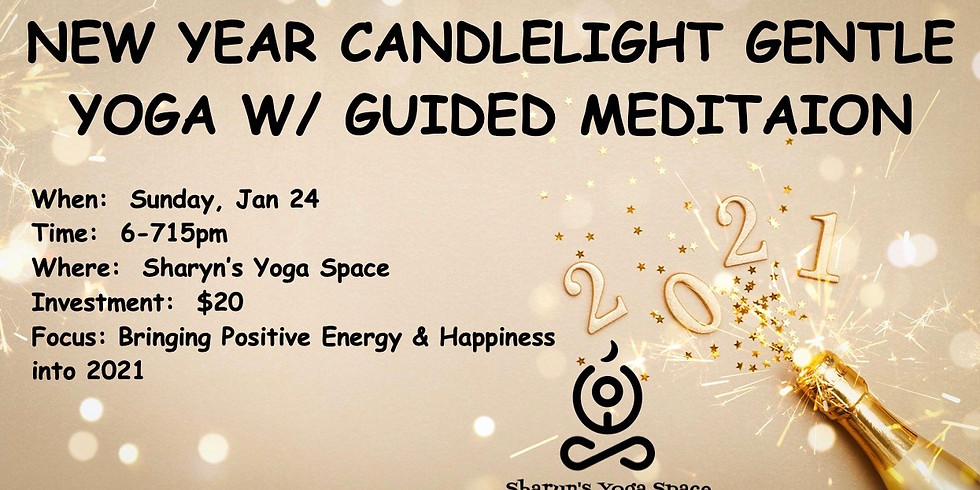 New Year Candlelight Gentle w/ meditation
