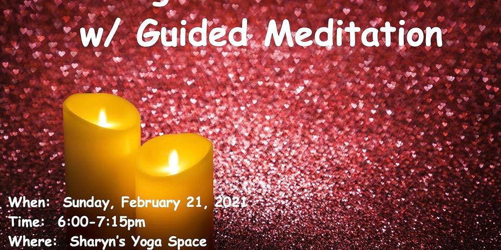 May Yin/Restorative w/ Guided Meditation