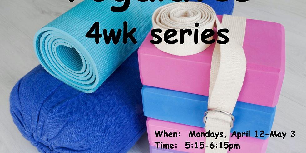 Yogalates- 4wk Series