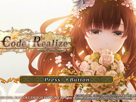 Game Review #518: Code: Realize ~Future Blessings~ (Nintendo Switch)
