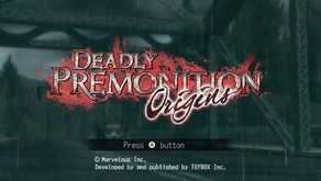 Game Review #529: Deadly Premonition Origins (Nintendo Switch)