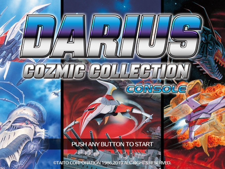 Game Review #539: Darius Cozmic Collection Arcade and Console (Nintendo Switch)