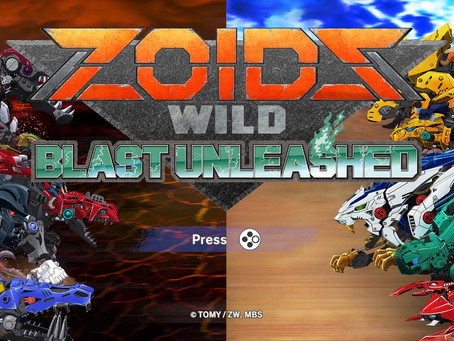 Game Review #546: Zoids Wild Blast Unleashed (Nintendo Switch)