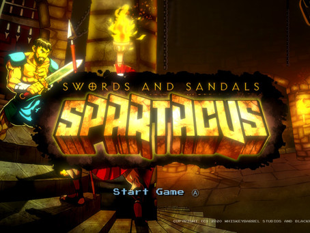Game Review #532: Swords and Sandals: Spartacus (Nintendo Switch)