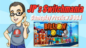 Gameplay Video Preview #004: Billion Road (Nintendo Switch)