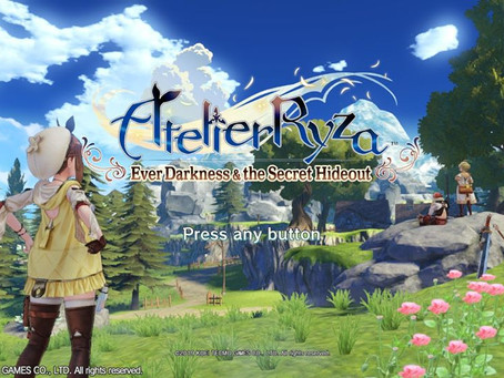 Game Review #508: Atelier Ryza: Ever Darkness & the Secret Hideout (Nintendo Switch)