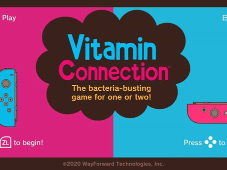 Game Review #514: Vitamin Connection (Nintendo Switch)