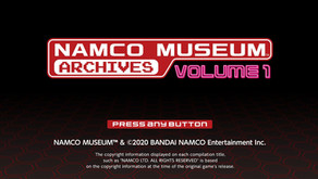 Game Review #541: Namco Museum Archives Volume 1 and 2 (Nintendo Switch)