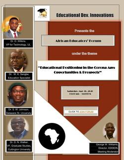 2nd African Educators' Forum