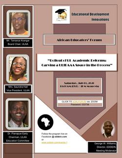 6th African Educators' Forum
