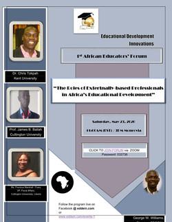 1st African Educators' Forum