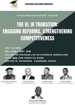 7th African Educators' Forum