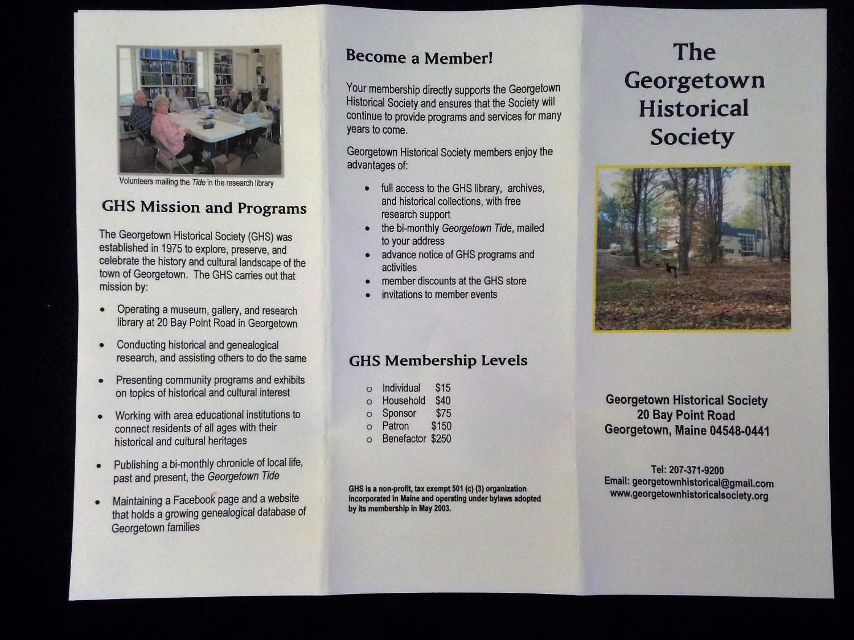 Event Tri-fold Brochure