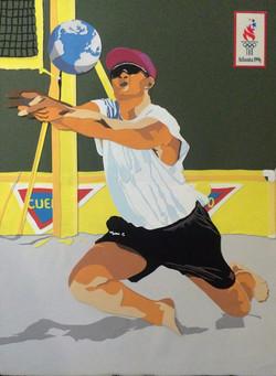 Atlanta Olympic Game Poster