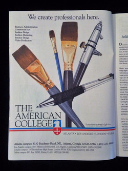 Magazine Ad Illustration