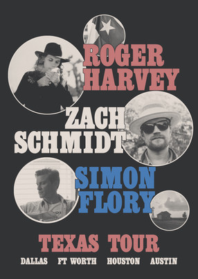 OCTOBER SHOWS IN TEXAS WITH ZACH SCHMIDT & SIMON FLORY. TICKETS ON SALE.