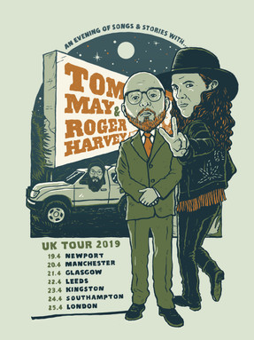 APRIL SHOWS IN THE UK WITH TOM MAY (THE MENZINGERS) & RESTORATIONS.