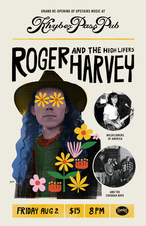 ROGER HARVEY & THE HIGH LIFERS IN PHILADELPHIA. GRAND RE-OPENING OF THE KHYBER.