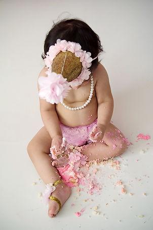 cake smash photo