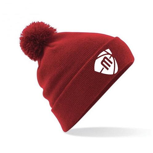 Manchester Magic & Mystics Red Bobble Hat
