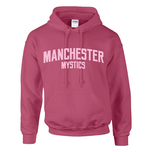 Manchester Mystics Heliconia Pink Hoody - Pink print