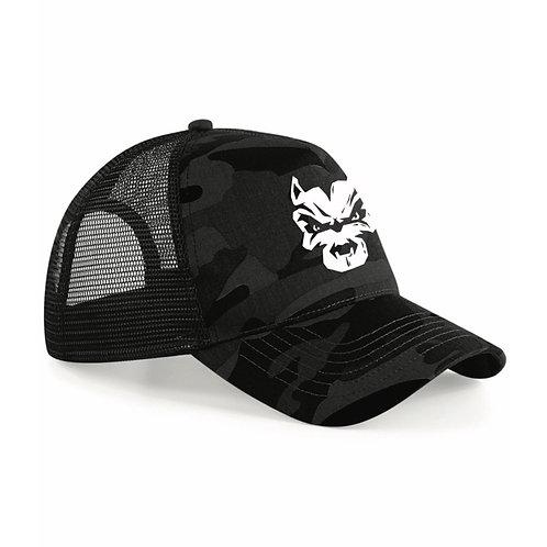 Big Dog Ballin Black Camo Trucker Cap