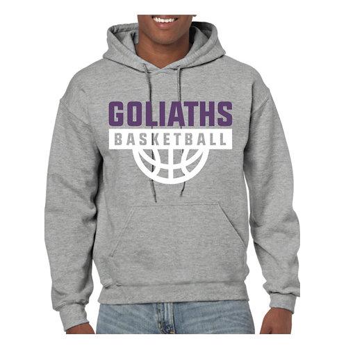 Gosforth Goliaths Grey Hoody design 4